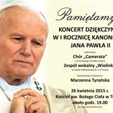 Papieski koncert dziękczynny