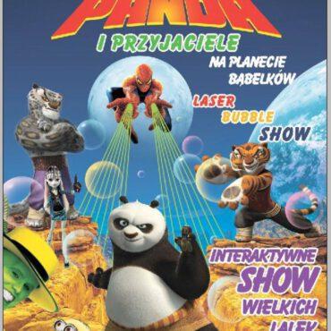 Spektakl `Kung-fu Panda i przyjaciele na planecie bąbelków` wkrótce w TOK