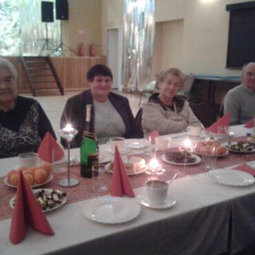 WDK Raciąż: Spotkanie świąteczno – opłatkowe w Klubie Seniora Promyk