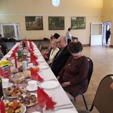 Zabawa Karnawałowa w Klubie Seniora `Promyk`