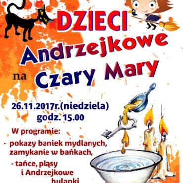 Andrzejkowe Czary-Mary dla dzieci w Raciążu – zapraszamy!