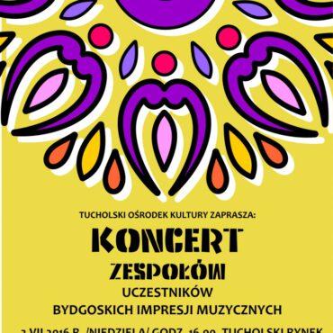 Uczestnicy Bydgoskich Impresji Muzycznych wystąpią w Tucholi