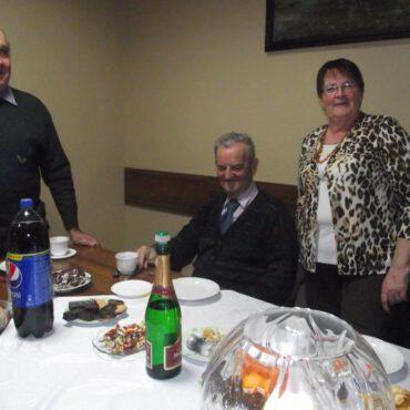 Wieczór andrzejkowy w Klubie Seniora Promyk w Raciążu
