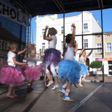 Taniec i fitness na tucholskim rynku