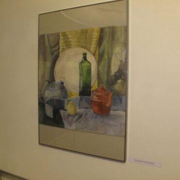 Zuzanna i Michalina Metkowskie oraz Marita Chudzińska pokazały swoje prace