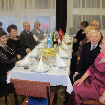 Spotkanie noworoczne Klubu Seniora Jesień
