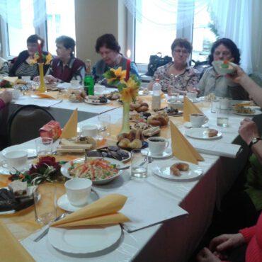 Dzień kobiet w Klubie Seniora Promyk