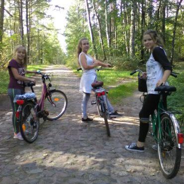 WDK Raciąż: wycieczka rowerowa do raciąskiego grodu