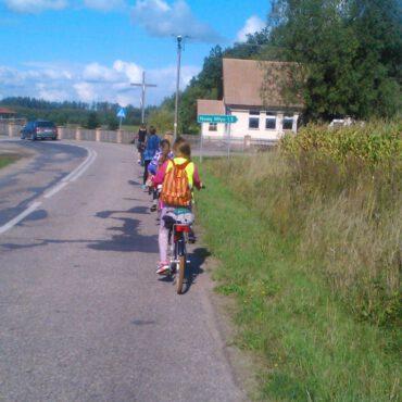 WDK Raciąż: rowerami pojechaliśmy do Fojutowa