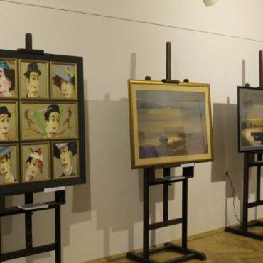 Wystawa malarstwa pod patronatem Senatora RP Andrzeja Kobiaka już otwarta