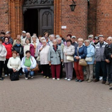 Seniorzy zwiedzili Pomorze Zachodnie