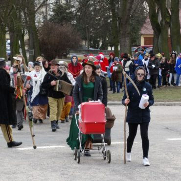 Korowód tucholskich kolędników zawitał do TOK