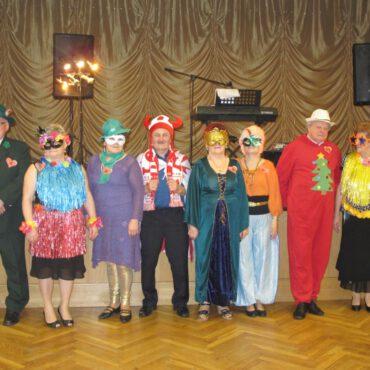 Przebierańcy w Klubie Seniora Jesień