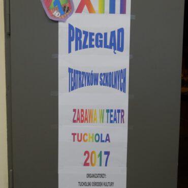 XIII Przegląd Teatrzyków Szkolnych pn. `Zabawa w teatr` za nami!