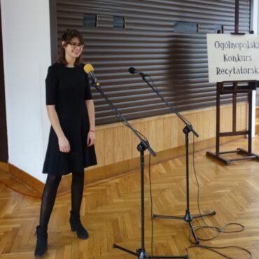 Eliminacje 62. Ogólnopolskiego Konkursu Recytatorskiego w Tucholi zakończone