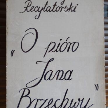 Turniej Recytatorski `O pióro Jana Brzechwy` w kategoriach klas I i III zakończony