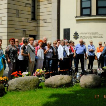 Seniorzy odwiedzili Warszawę