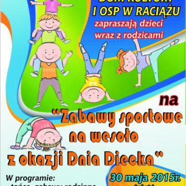Dzień Dziecka w Raciążu