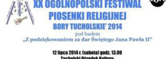 Jubieluszowy XX Ogólnopolski Festiwal Pioseniki Religijnej