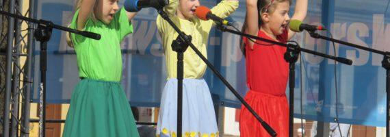 Dzień Dziecka odbył się na rynku w Tucholi