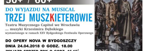 Wyjazd do Opery Nova na musical `Trzej Muszkieterowie`