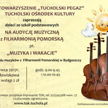 Zapraszamy na czerwcową Audycję pt. `Muzyka i Wakacje`