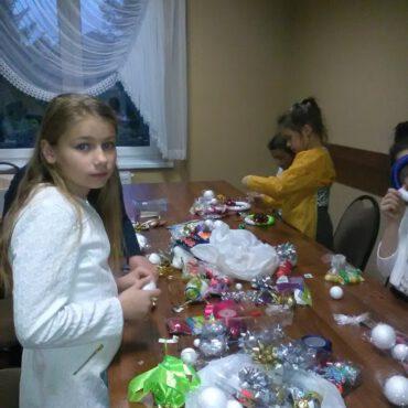 W Raciążu tworzyli ozdoby bożonarodzeniowe ręcznie robione