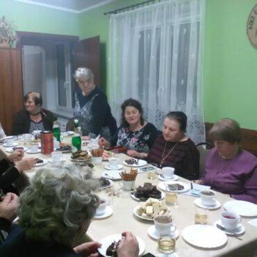 `Dzień Kobiet` w Klubie Seniora `Promyk`