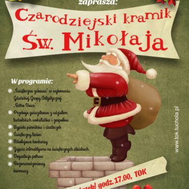 Zapraszamy na Czarodziejski Kramik Św. Mikołaja