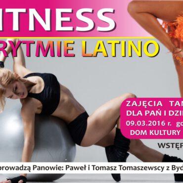 Fitness latino w Wiejskim Domu Kultury w Raciążu