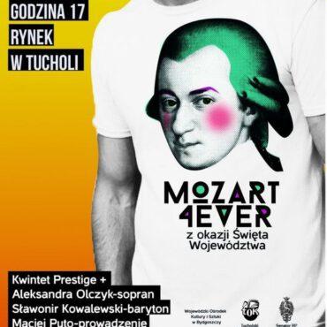 Mozart 4ever na tucholskim rynku