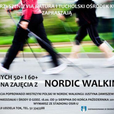 Zajęcia nordic-walking powracają