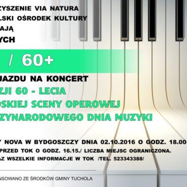 Wyjazd do Opery Nova z okazji Dnia Muzyki