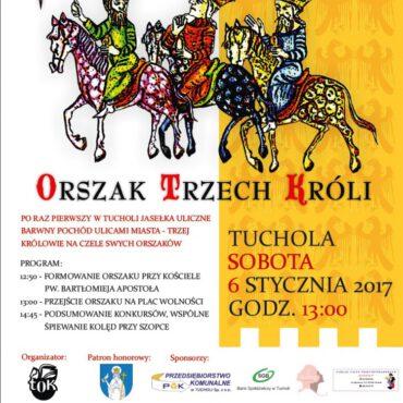 `Orszak Trzech Króli` po raz pierwszy w Tucholi