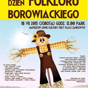 Zapraszamy na Dzień Folkloru Borowiackiego