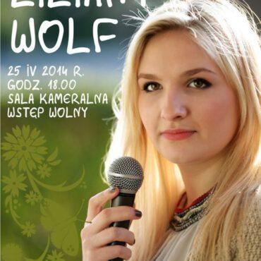 Wiosenny koncert Liliany Wolf