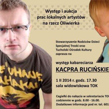 Kacper Ruciński dla Oliwierka