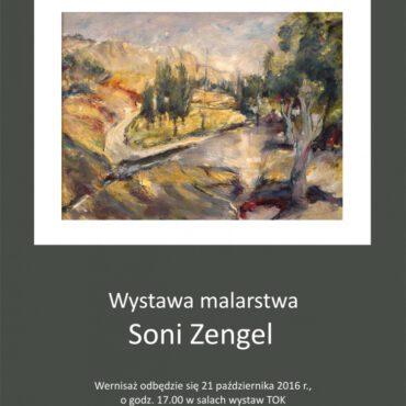 Wystawa malarstwa Soni Zengel w Tucholi