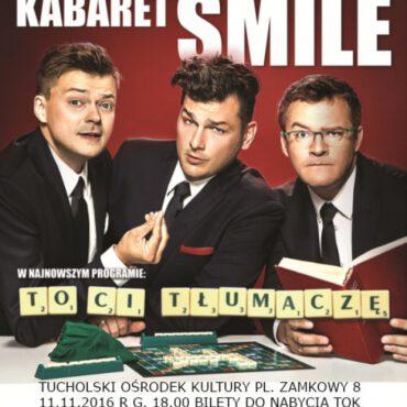 Kabaret Smile w listopadzie w TOK