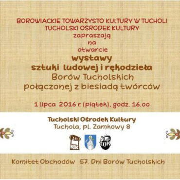 Wystawa sztuki ludowej Borów Tucholskich