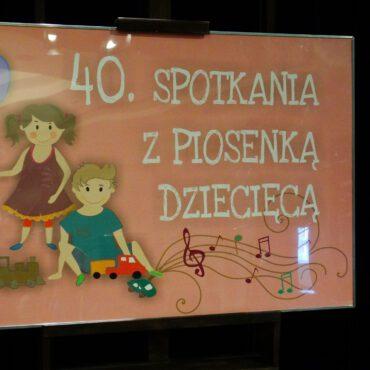 40. Spotkania z Piosenką Dziecięcą – fotorelacja