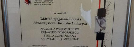 Oddział Bydgosko-Toruński STL wyróżniony!