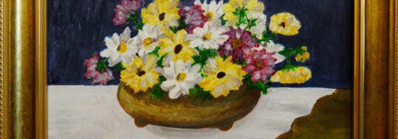 Wernisaż wystawy prac Krystyny Brodowskiej