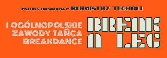 BREAK A LEG – I Ogólnopolskie Zawody Tańca Breakdance