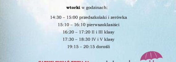 """Szkoła Języków Obcych """"Umbrella"""" w WDK Raciąż"""