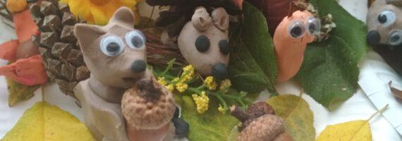 Jesień w ogrodzie i parku w oczach dzieci z Raciąża