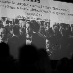"""Polska Światłoczuła: projekcja filmu """"Zimna wojna"""" i spotkanie z Mirosławem Makowskim"""