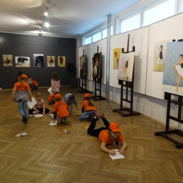 Zuchy na wystawie Kazimierza Soćko