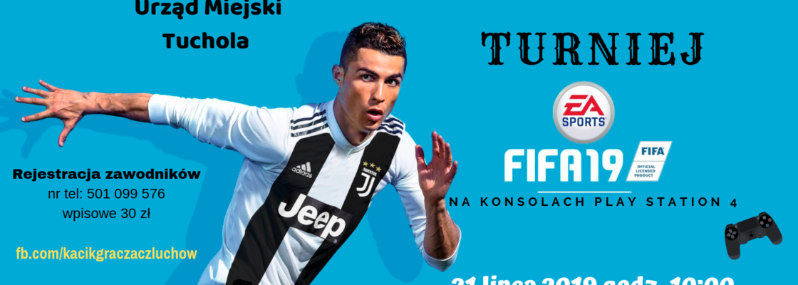 Turniej FIFA19 w Tucholskim Ośrodku Kultury