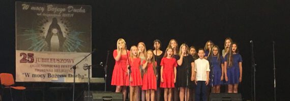 Laureaci XXV Ogólnopolskiego Festiwalu Piosenki Religijnej